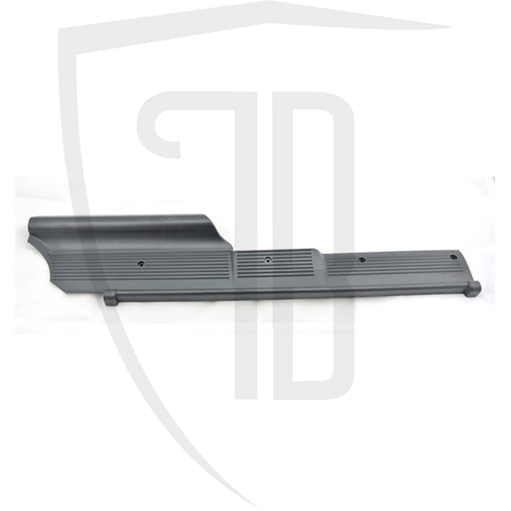 RH rear door black plastic kick plate