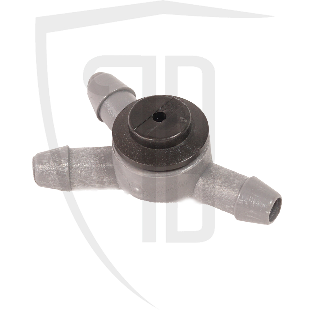 Windscreen washer one-way valve