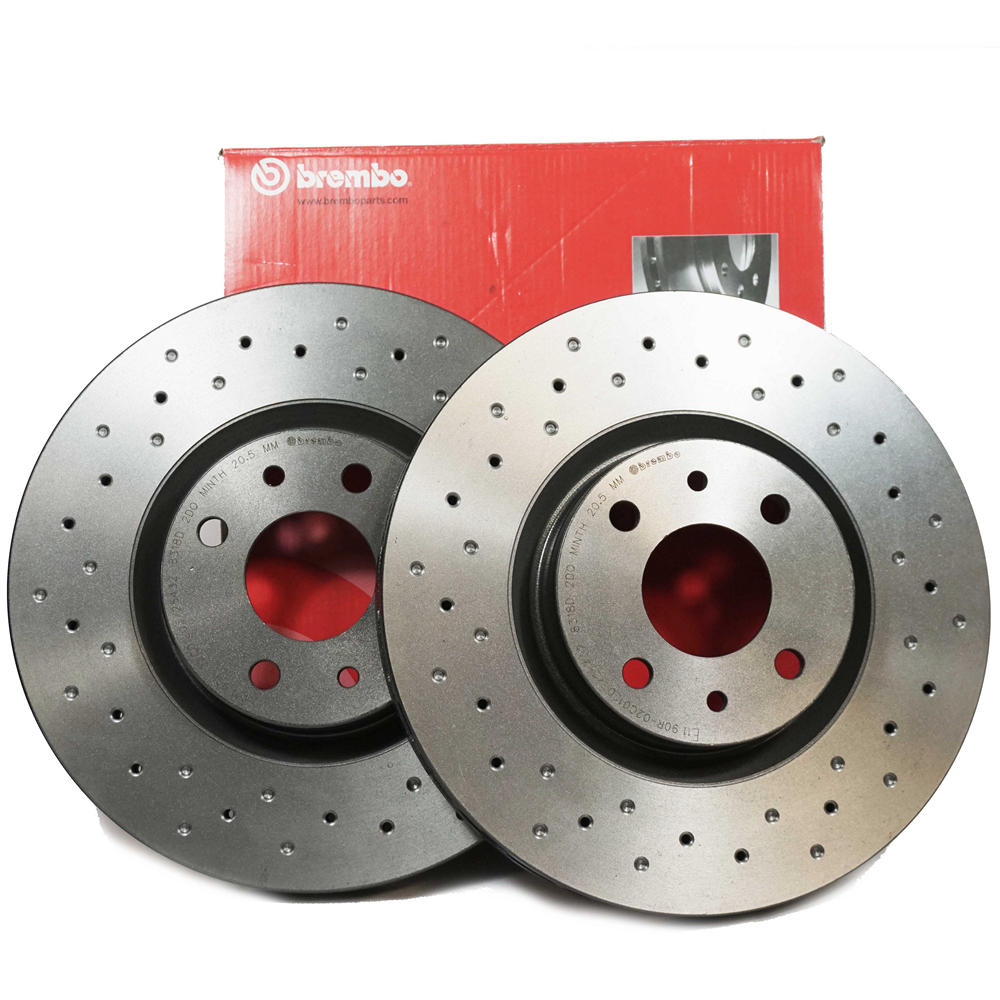 Brembo Xtra Performance Front Brake Disc 8v 16v