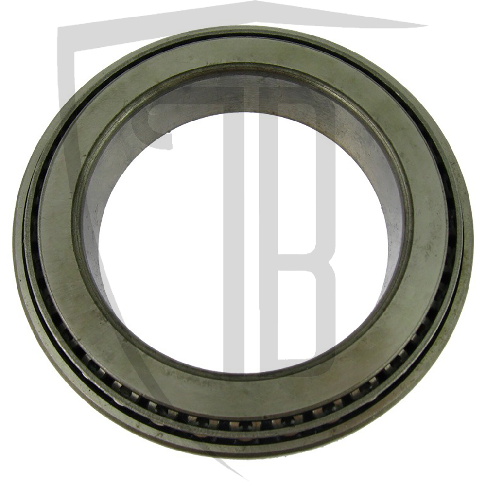 Front differential carrier bearing