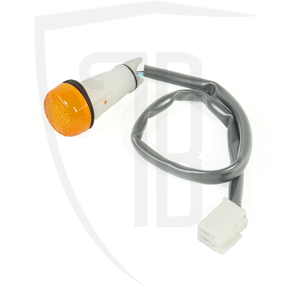 Side indicator repeater lamp