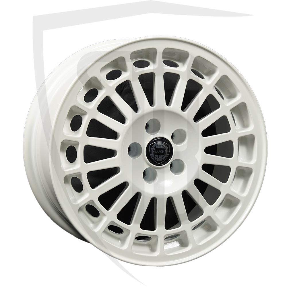 White Speedline Evo 2 Wheel/Rim
