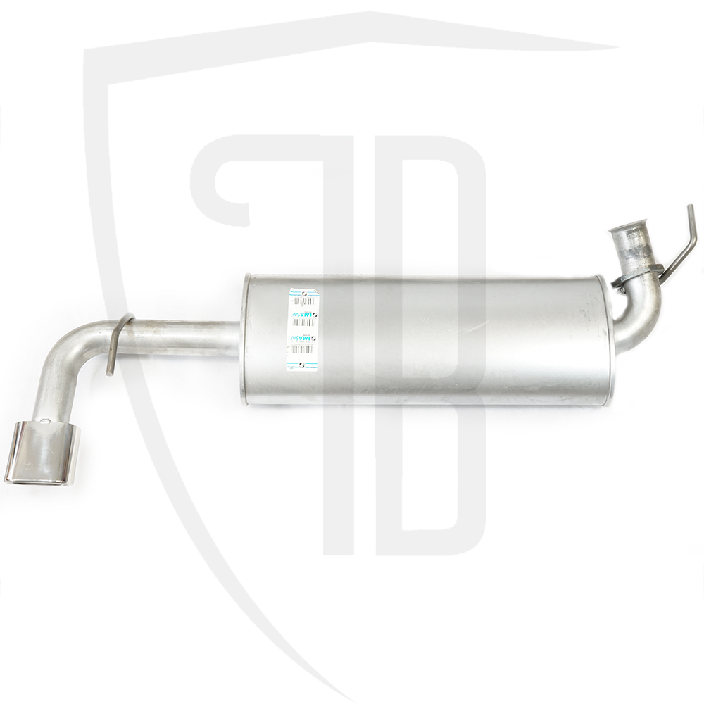 Exhaust rear silencer