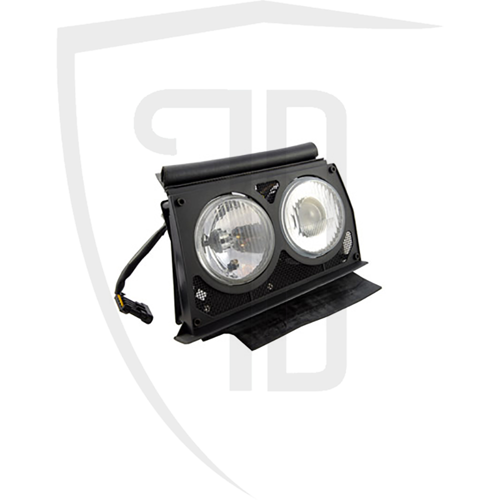 Headlamp assembly LH Evo 2