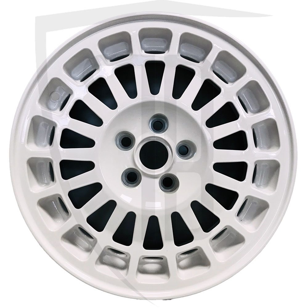 Evo 1 5 stud wheel/Rim in white - 15 inch