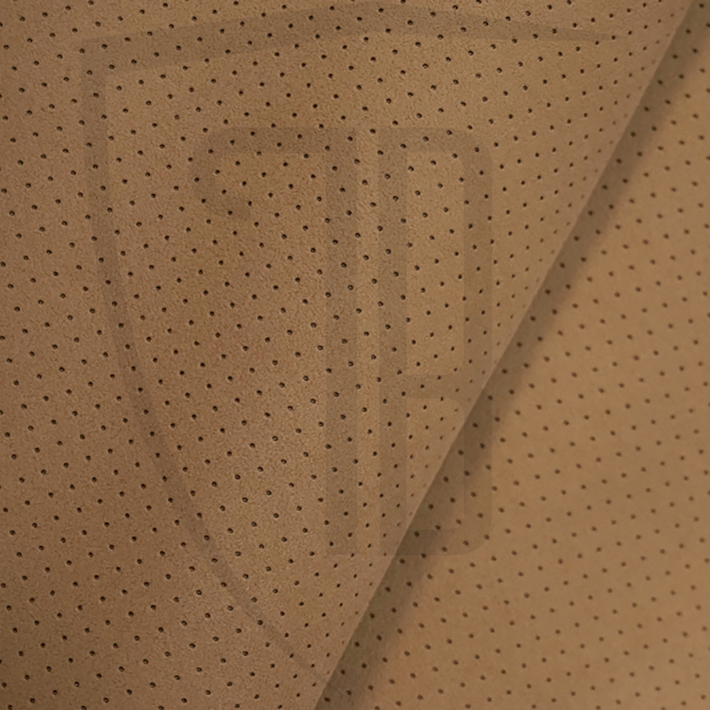 Beige Alcantara Perforated