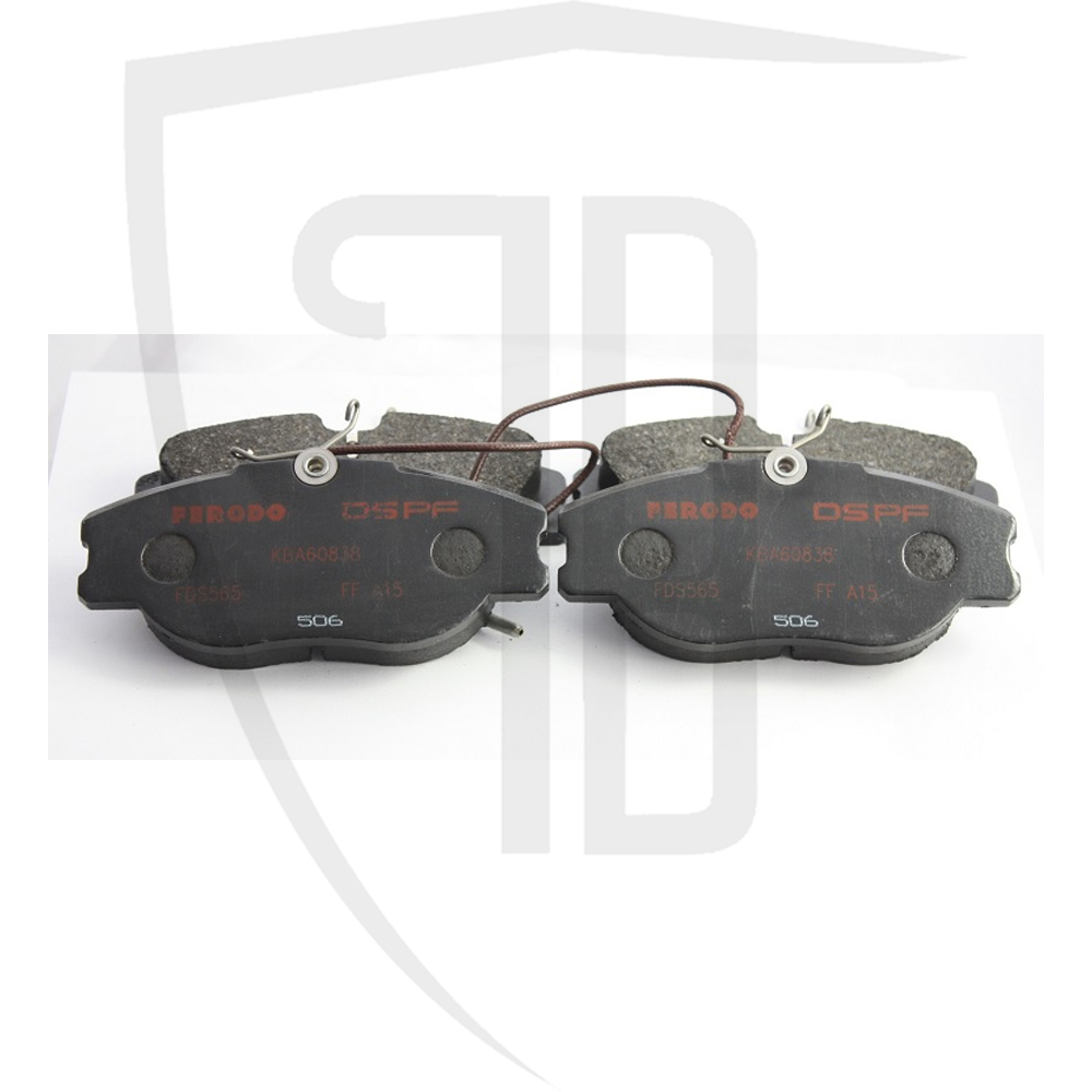 8v 16v Front Brake Pad Set Ferodo DS Performance