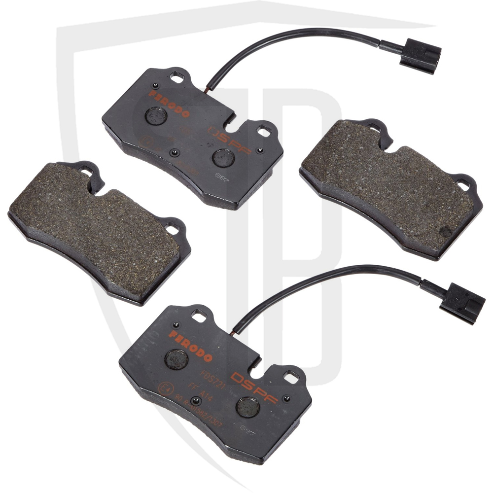 Evo Front Brake Pad Set Ferodo DS Performance