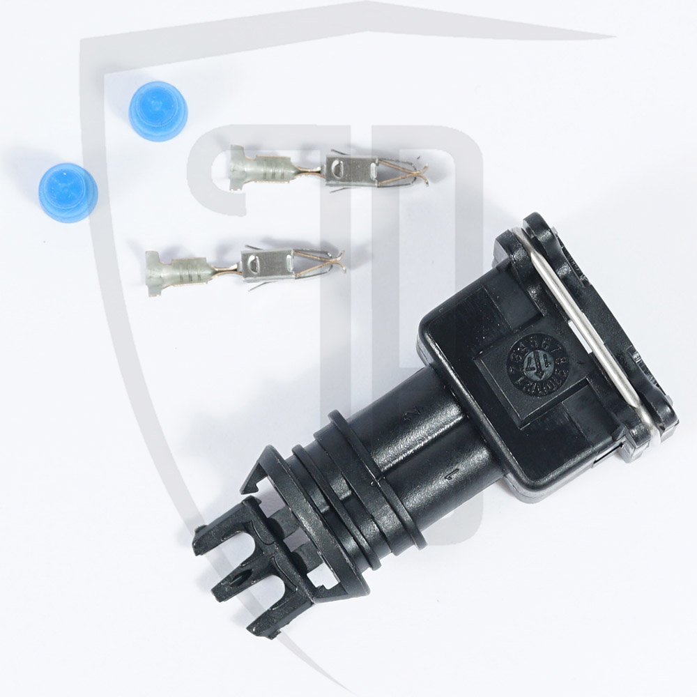 Fuel Injector Connector Wiring Plug Socket