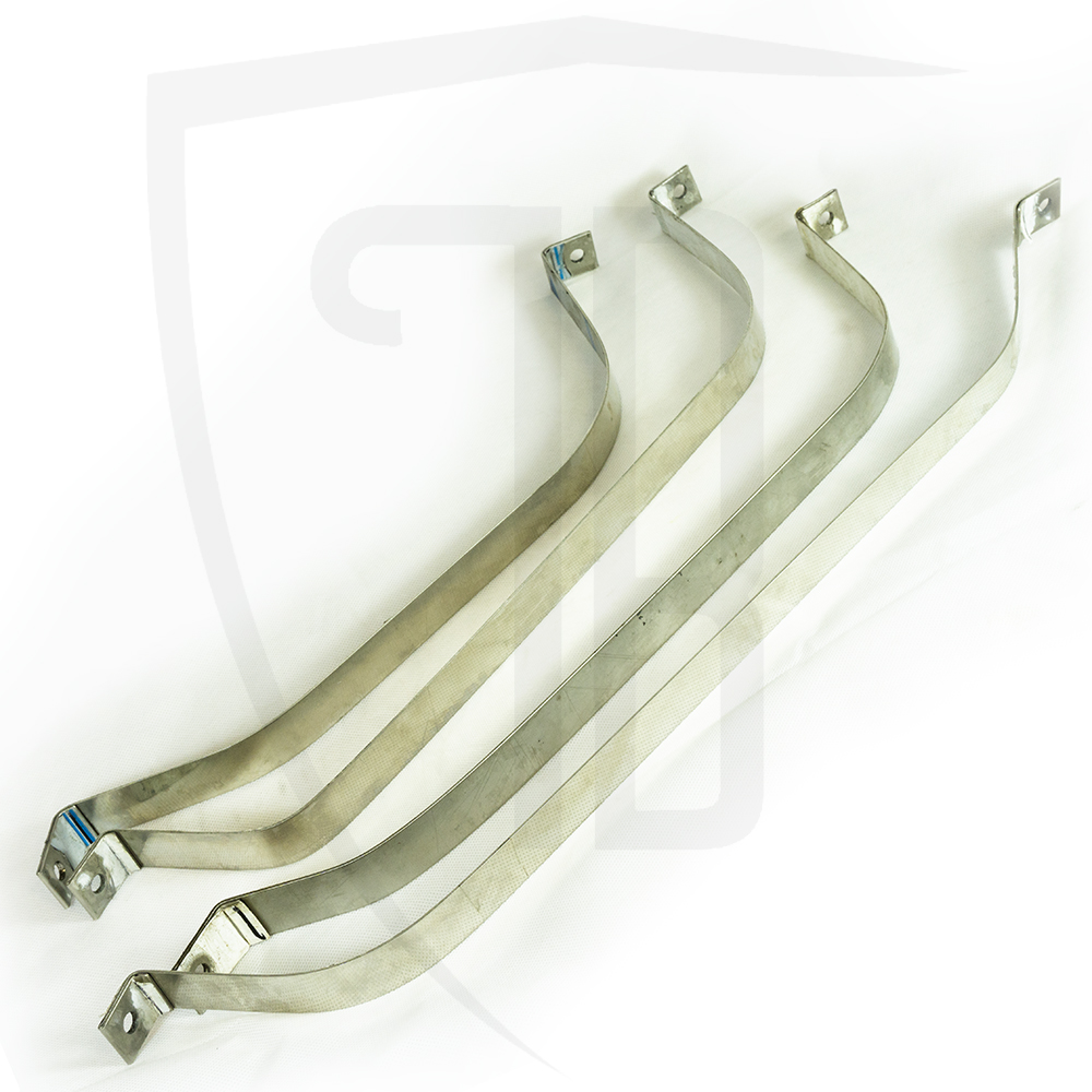 Stainless Steel Fuel Tank Straps